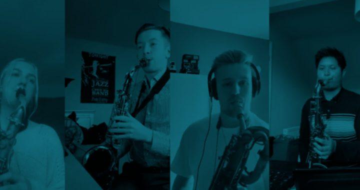 Honkin Saxophone [Video]